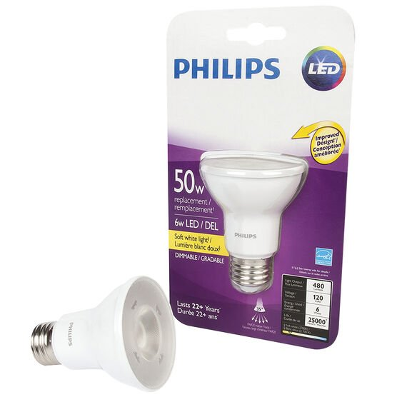 Philips LED Replacement Bulb - Soft White - 50W