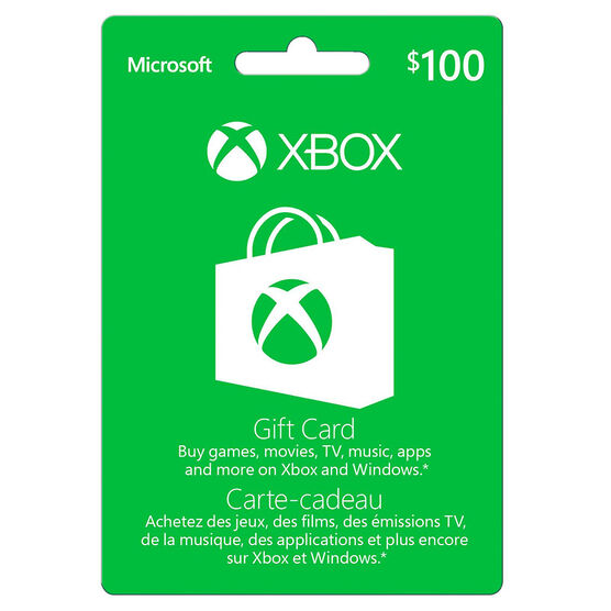 Xbox Gift Card - $100