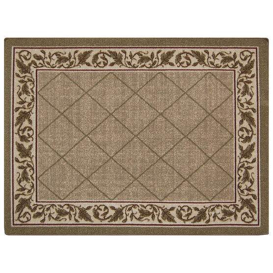 Multy Home Regent Indoor Mat - Sand - 3x4 feet