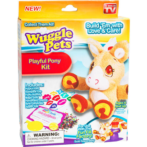 Wuggle Pets Playful Pony Kit