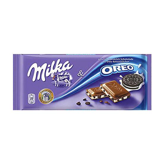 Milka Oreo Chocolate Bar - 100g