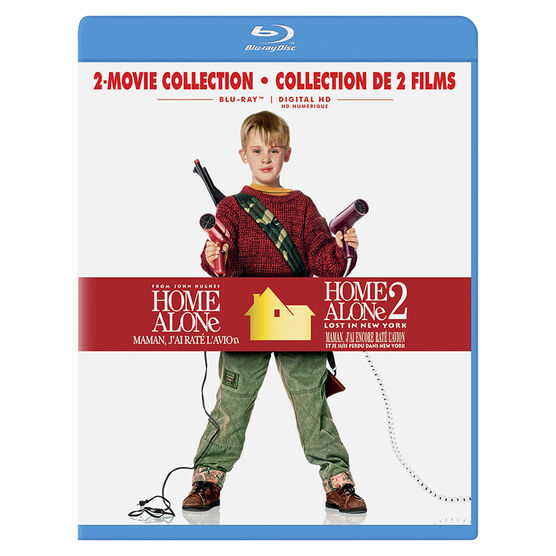 Home Alone 2-Movie Collection - Blu-ray