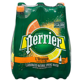 Perrier Sparkling Water Case - L'Orange - 6 x 1L