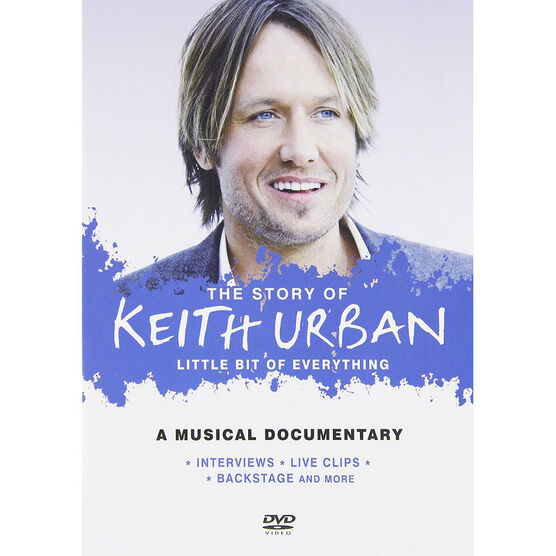 The Story of Keith Urban: A Little Bit of Everything - DVD