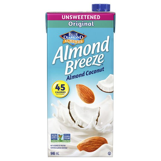 Blue Diamond Almond Breeze - Almond Coconut - 946ml