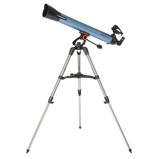 Celestron Inspire 80 AZ Telescope - Blue - 22402
