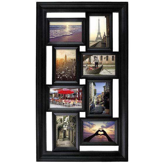 """KG Montage Collage Frame - Black - 8-4""""X6"""""""