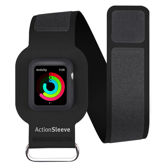 Twelve South ActionSleeve Armband for Apple Watch 42 - Black - TS121703
