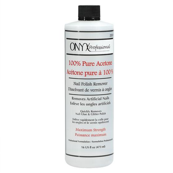 Onyx 100% Pure Acetone Nail Polish Remover - 16oz