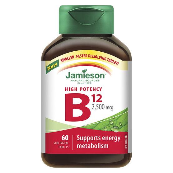 Jamieson Vitamin B12 2500mcg - 60's