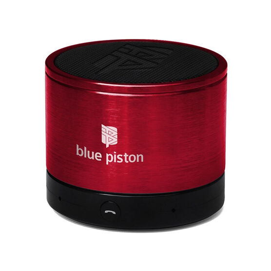 Logiix Blue Piston Bluetooth Speaker - Cherry Red - LGX10614