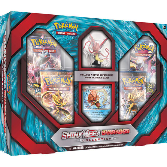Pokémon Shiny Mega Gyarados Collection - Assorted