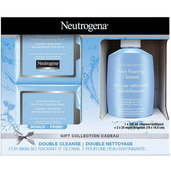 Neutrogena Double Cleanse Gift Collection - 3 piece