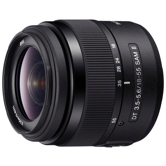 Sony A Mount DT 18-55mm f/3.5-5.6 Zoom Lens - SAL18552 - Open Box Display Model