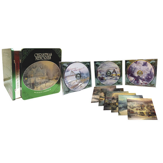 Thomas Kinkade - Christmas Memories Box Set - 2CD/1DVD