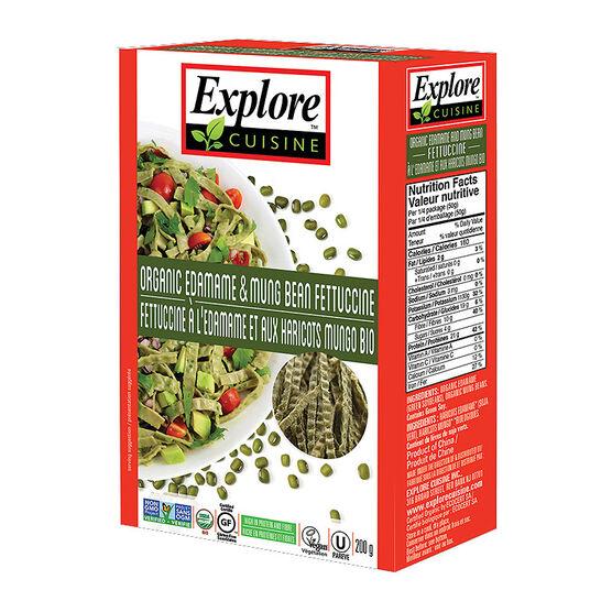 Explore Cuisine Fettucine - Edamame - 200g
