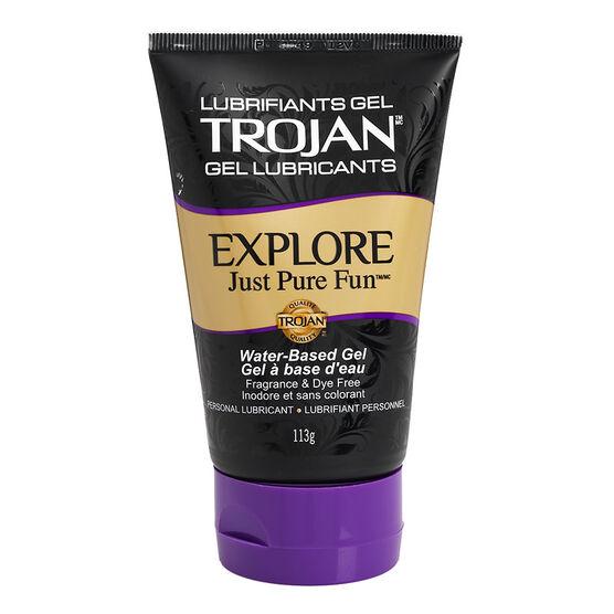 Trojan Gel Personal Lubricants - Explore - 113g