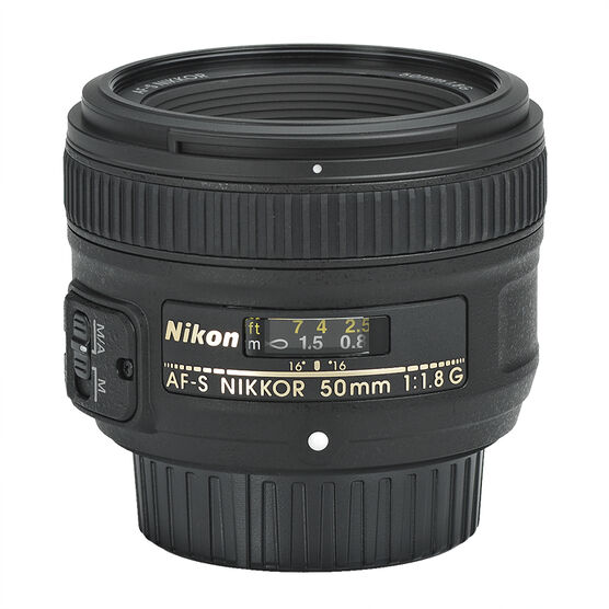 Nikon AF-S FX 50mm f/1.8G - 2199