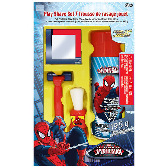 Spiderman Play Shave Set