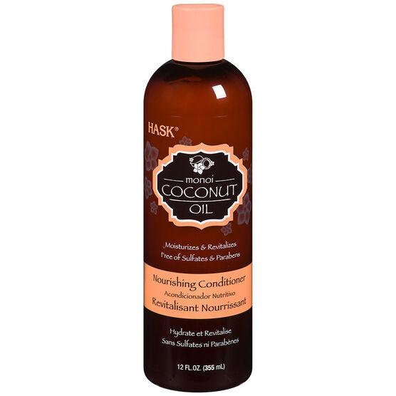 Hask Monoi Coconut Oil Nourishing Conditioner - 355ml