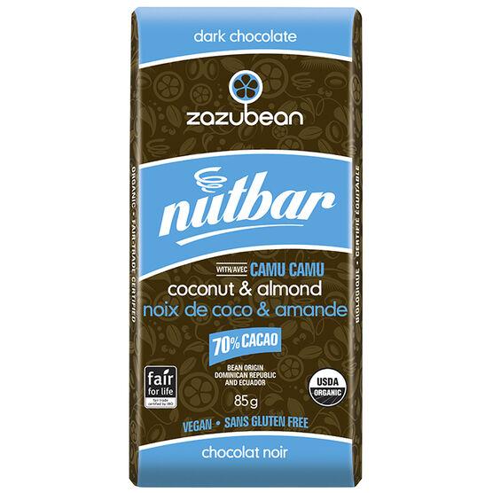 Zazubean NutBar - Coconut Almond - 85g