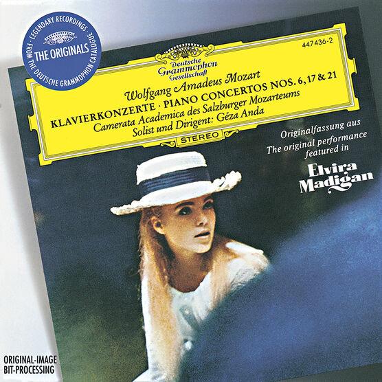 Mozart - Piano Concertos No. 6, 17 & 21 - CD