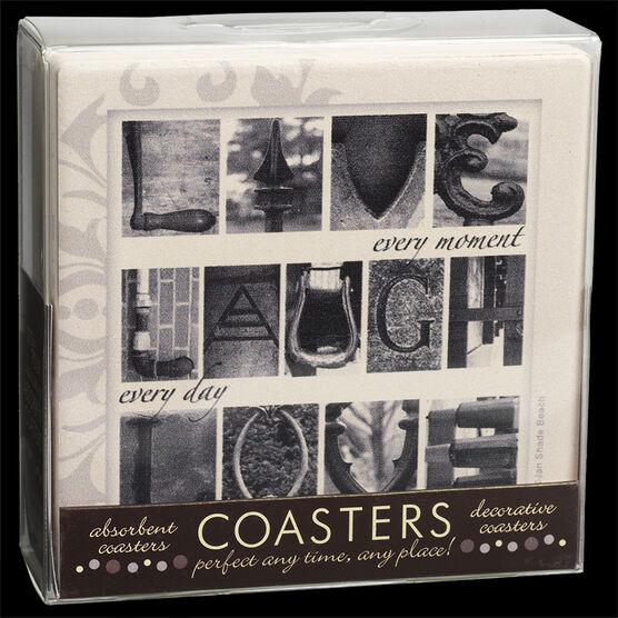 Live, Laugh, Love Coaster Set - 4 piece