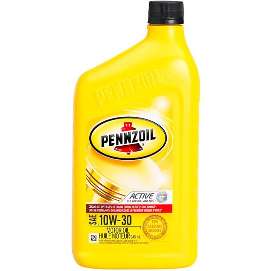 pennzoil 10w 30 motor oil 946ml london drugs