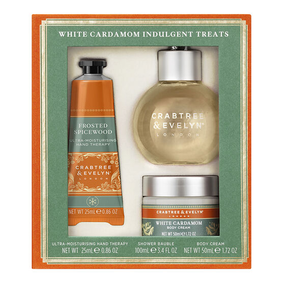 Crabtree & Evelyn White Cardamom Indulgent Treats - 3 piece