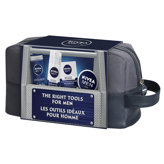 Nivea The Right Tools for Men Gift Set - 4 piece