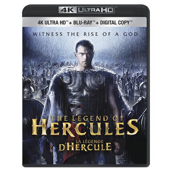 The Legend of Hercules - 4K UHD Blu-ray