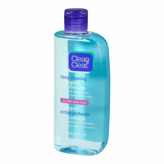 Clean & Clear Blackhead Clearing Astringent - Sensitive - 235ml