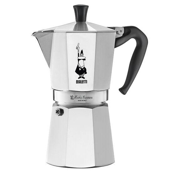 Bialetti Moka Express Stovetop Espresso Maker - 9-cup