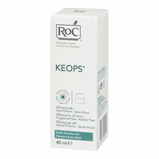 RoC Keops Deodorant Stick - 40ml