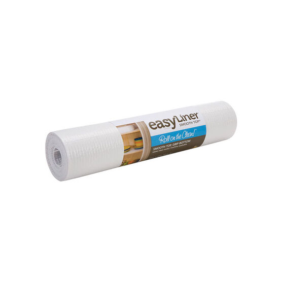 Shurtech Smooth Top Easy Liner - White - 20 inches x 6 feet