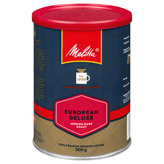 Melitta Roast & Ground Coffee - Deluxe - 300g