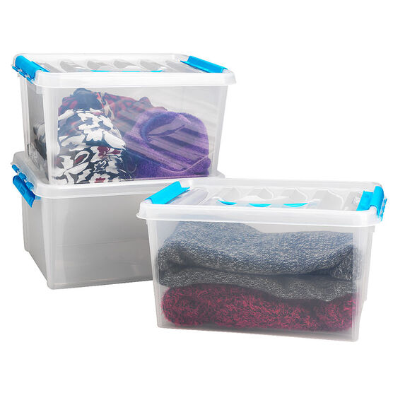 Snapware Clear Containers Value Pack Set of 3 - 16 x 9inch
