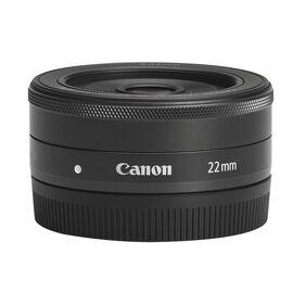 Canon EF-M 22mm f/2 STM Lens - Black - 5985B002
