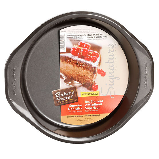 Baker's Secret Round Cake Pan - 22.9 x 4.2cm