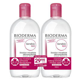 Bioderma Sensibi H2O Micelle Solution - 2x500ml