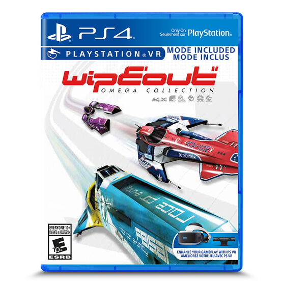PS4 WipEout Omega Collection Standard Edition
