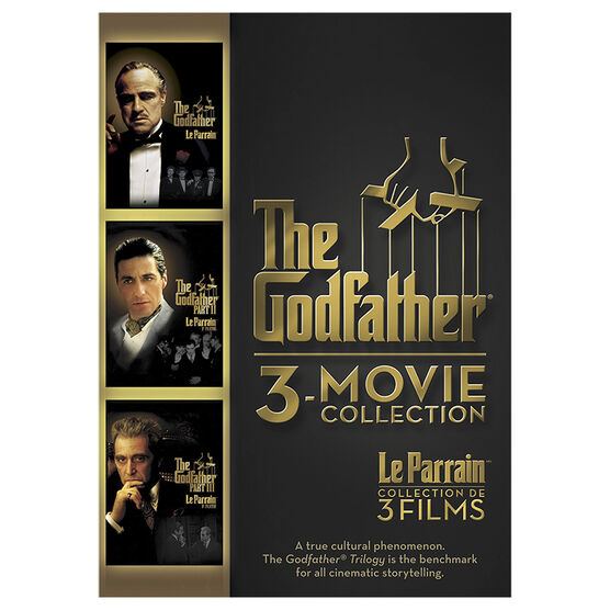 The Godfather 3-Movie Collection - DVD