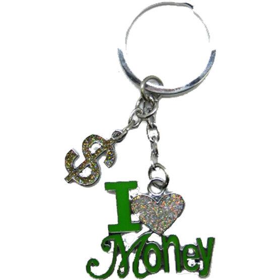Valentine's I Love Money Key Tag
