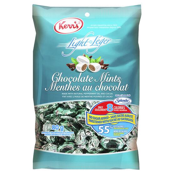 Kerr's Light Chocolate Mints - 80g