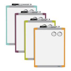 "Quartet Magnetic Dry Erase Board - Assorted - 8.5"" x 11"""