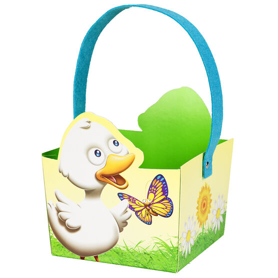 Easter Basket with Stanley and Petals