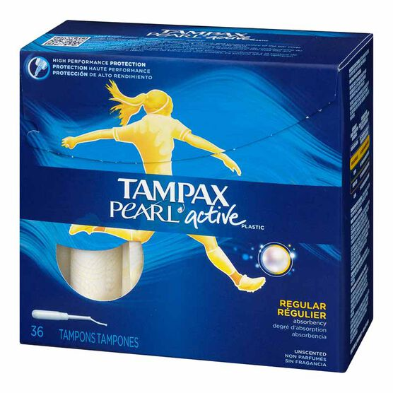 Tampax Pearl Active - Regular - 36's