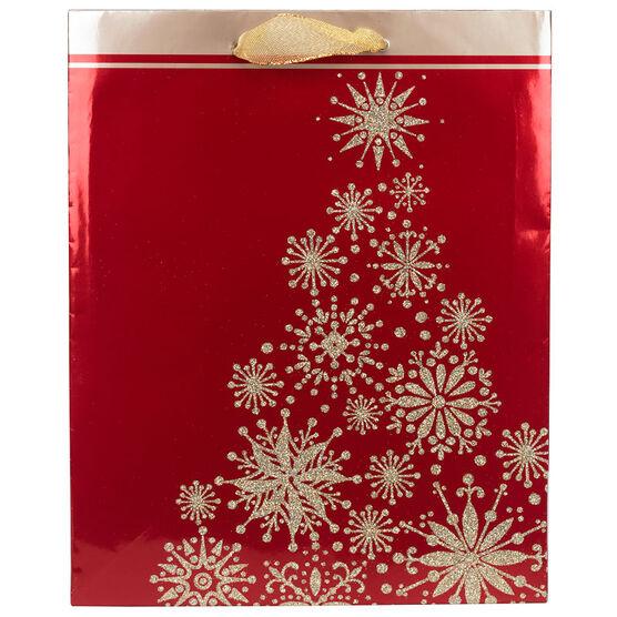 Hallmark Bag - Snowflake - Medium