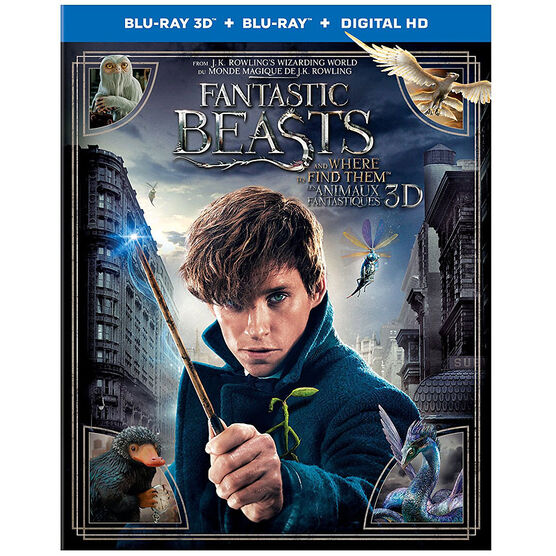 Fantastic Beasts and Where to Find Them - 3D Blu-ray