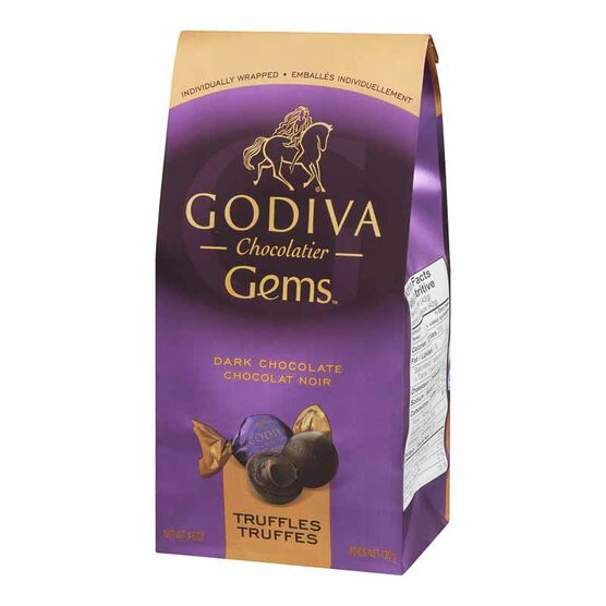 Godiva Gems Dark Chocolate Truffles - 130g